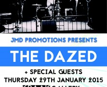 The Dazed, The Busker's Sons, Amplified Bandits, Brad McColl