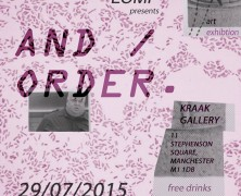 And / ORDER Exhibition
